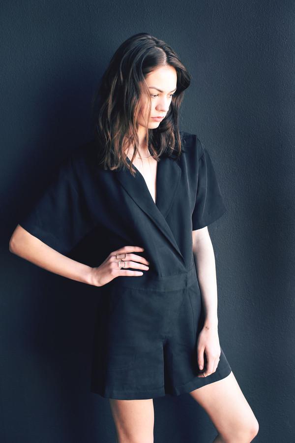 Cosette Gwyneth Short Sleeve Romper