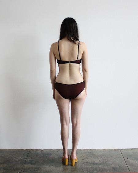 Pale Swimwear pinpoint bikini