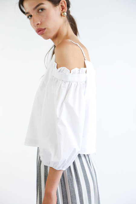 Collection Rea Top - White