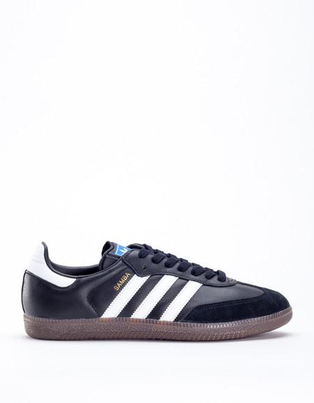 Adidas Samba Core Black White Gum