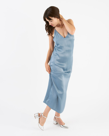 Won Hundred selina dress - dust blue