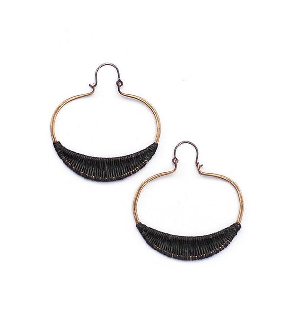 Tiro Tiro Charcoal Vea Earrings