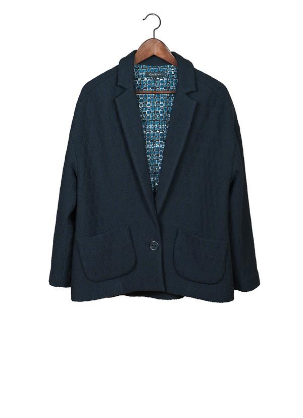 Cotelac Blue Heat Blazer