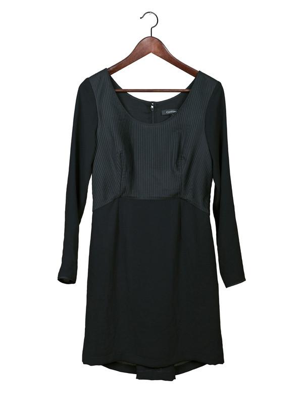 Cotelac Two-Tone Dress