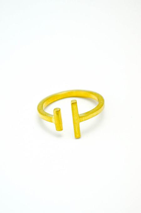 Maria Black Gold Kyla Ring