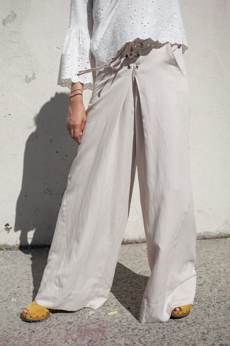 Ulla Johnson Rix Trouser in Dove