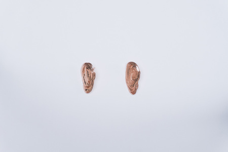 GARMENTORY EXCLUSIVE | Leigh Miller Rose Gold Plated Ostra Earrings