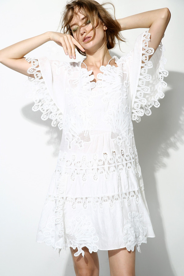 Few Moda Fairy 3D Floral Lace Dress