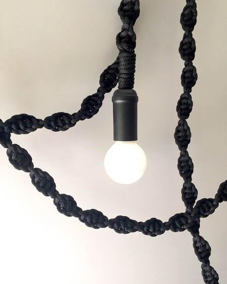 Windy Chien Helix Rope Light - Black