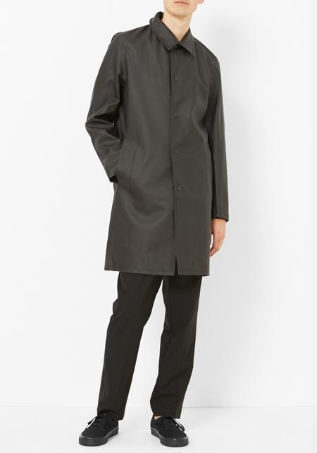 Stutterheim Black Vasastan Raincoat