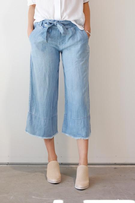 Bella Dahl Women's Fray Hem Crop Pant