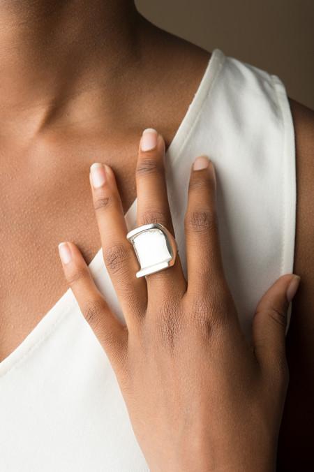 Erin Considine Corbu Ring In Silver