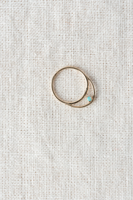 WWAKE Suspended Arc Ring