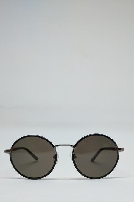 Shwood Hawthorne Sunglasses // Black/Mahogany
