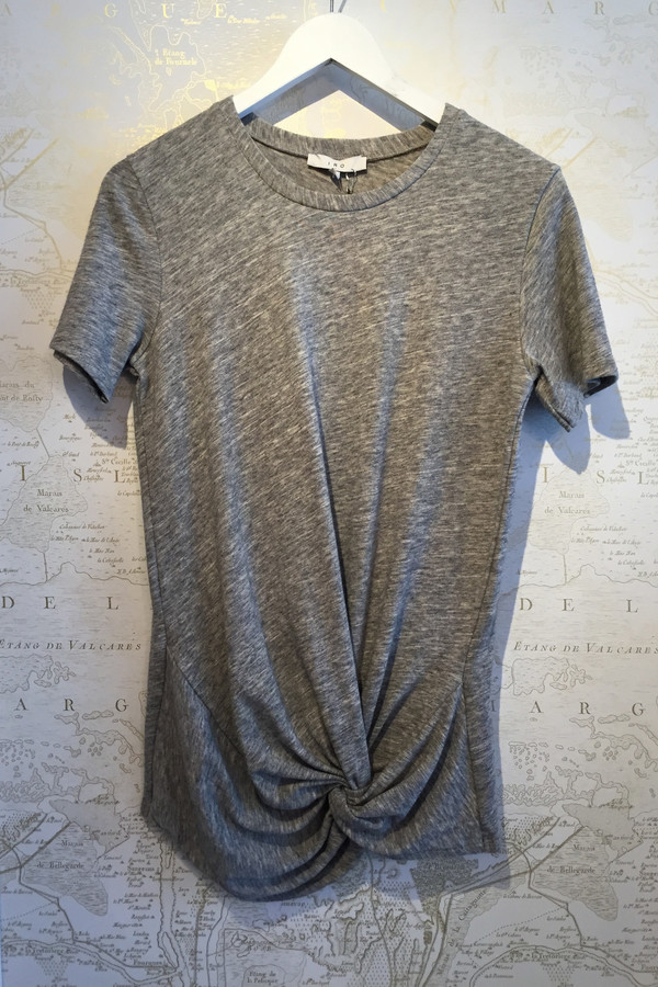 IRO Leticia Heathered Knot Tee