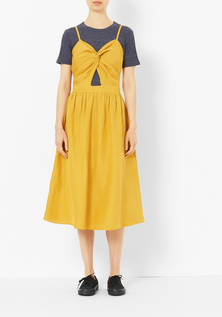Kamperett Marigold Knot Dress