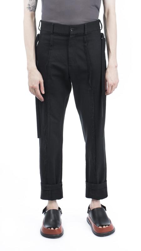 Men's Damir Doma Black Trousers