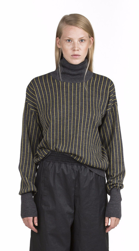 Y/project Grey Turtleneck Sweater