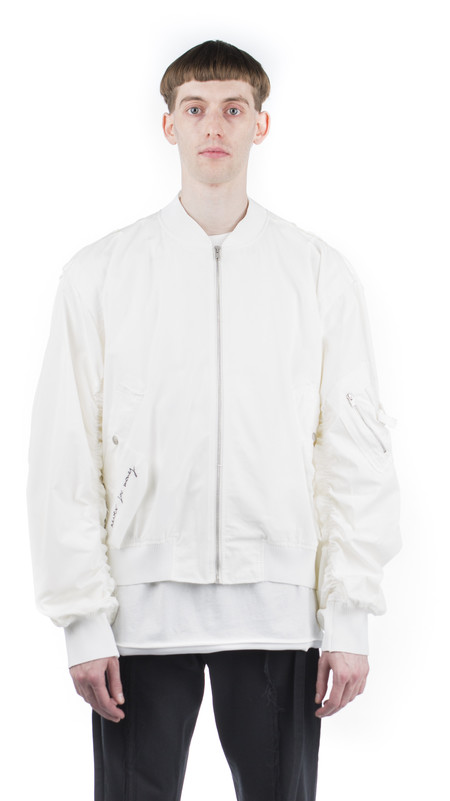 Damir Doma Jon Bomber Jacket - White