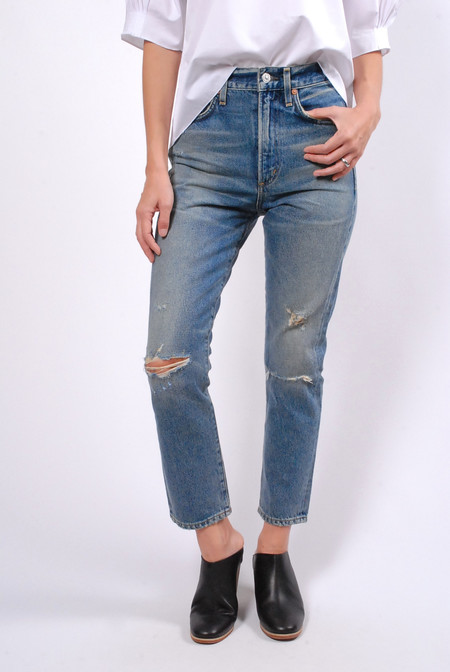 Citizens of Humanity Cameo Dree Crop High Rise Slim
