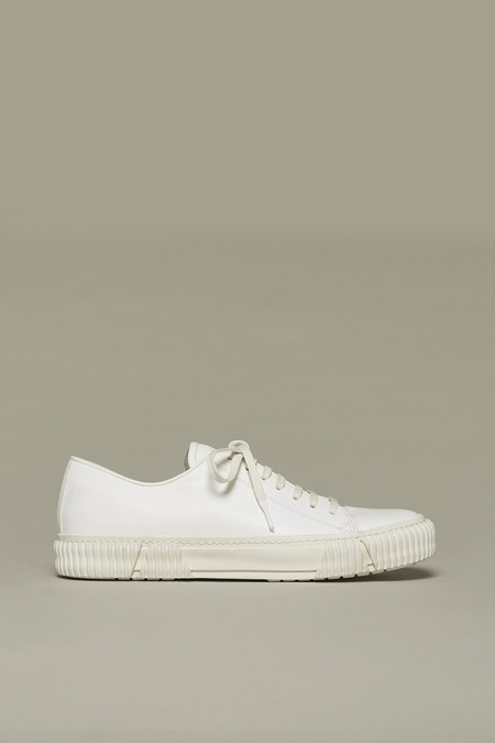 Both Paris White Horse Leather Sneakers