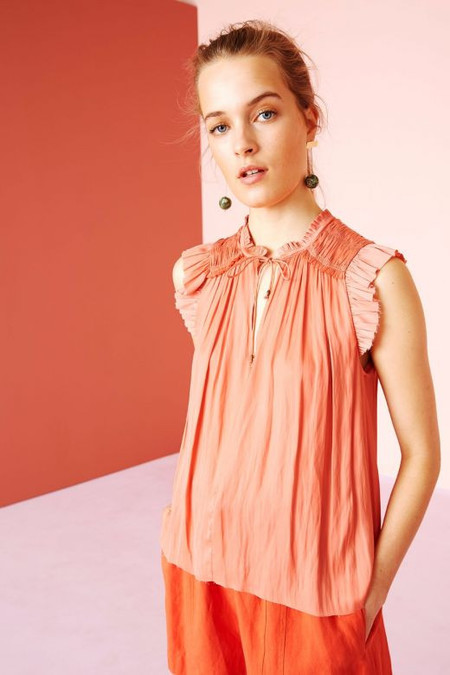 Ulla Johnson Ren Top - Dahlia
