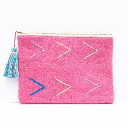 Proud Mary Chamula Clutch