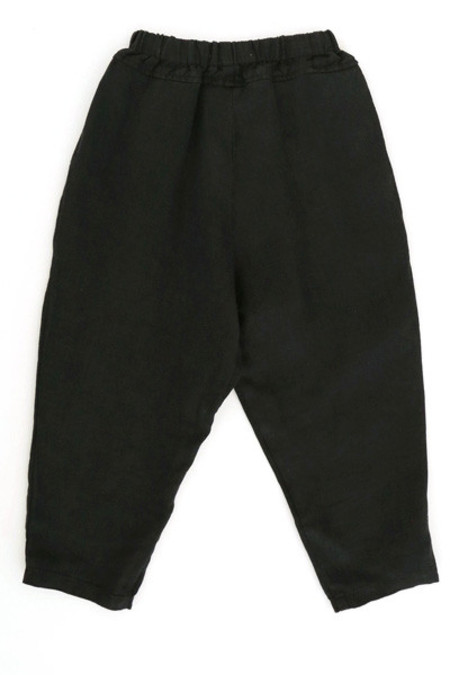 Kid's Black Crane Carpenter Pants - Black