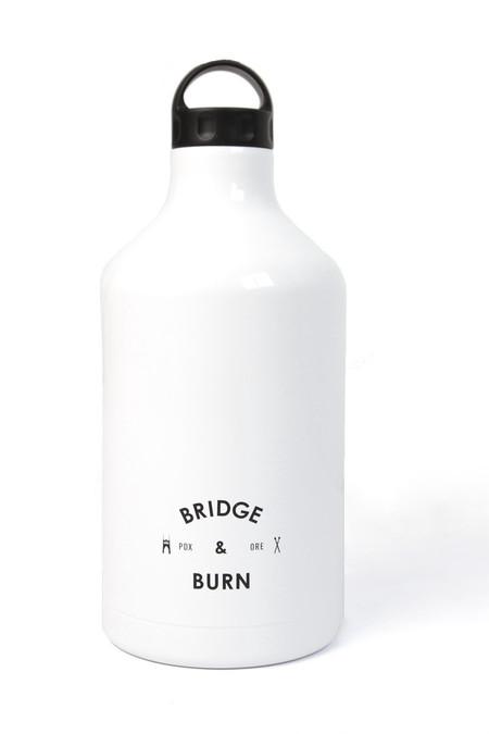 Shine Vessels Bridge & Burn x Shine Vessel Growler White