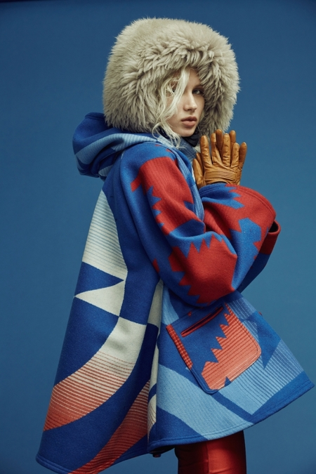 Lindsey Thornburg + Pendleton Captain America Pendleton Trench Cloak