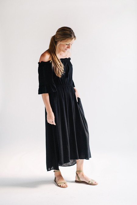 Sunday Supply Co. Ruffle Midi Dress