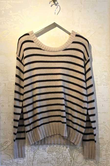 A.L.C. 'Rowan' Stripe Boatneck Sweater