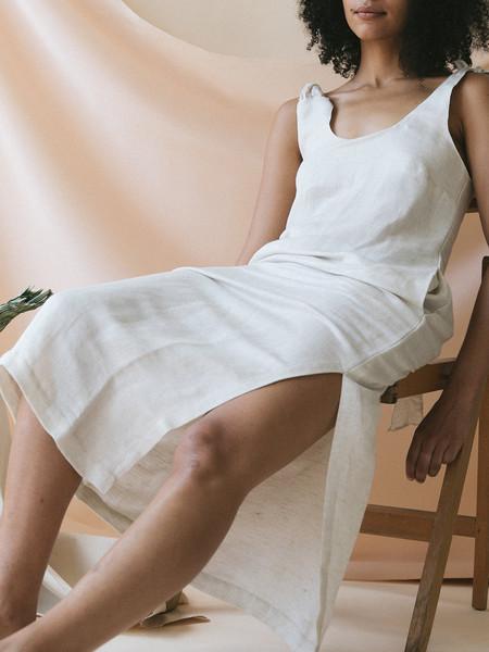 Ajaie Alaie Ray Dress - White Sands