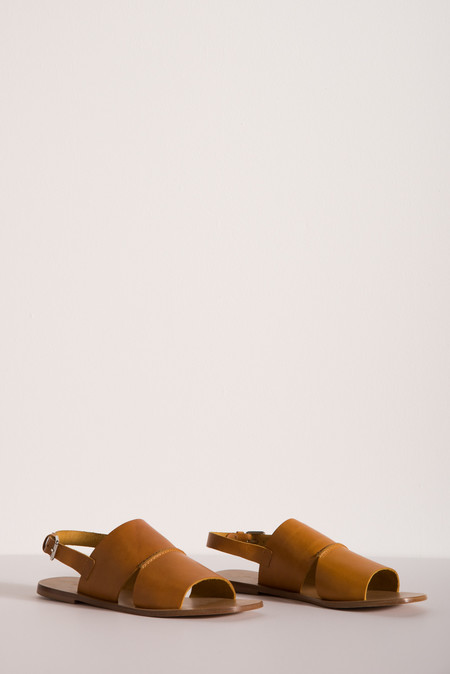 Creatures of Comfort Portmore Sandal in Yellow