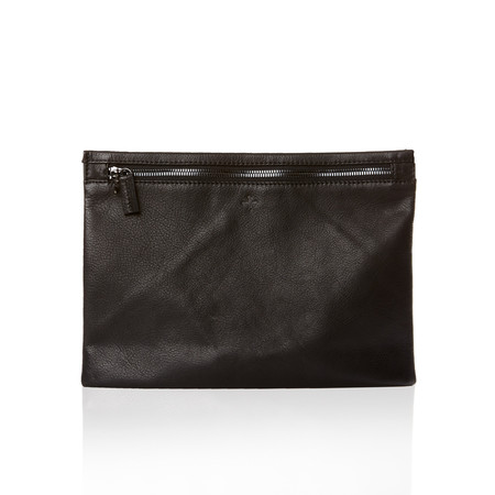 Marie Turnor The Slider Clutch - Pebble Black