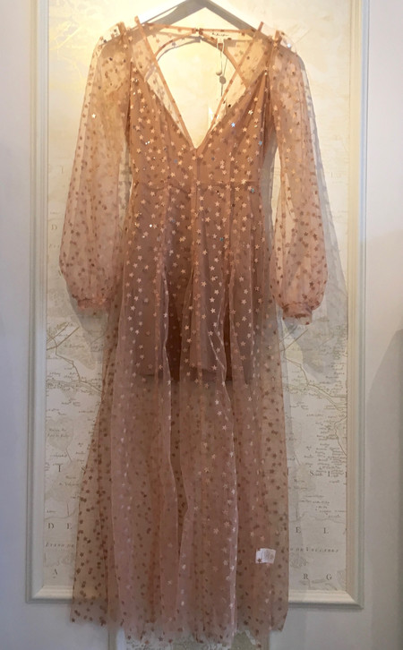 For Love & Lemons All That Glitters Star Dress