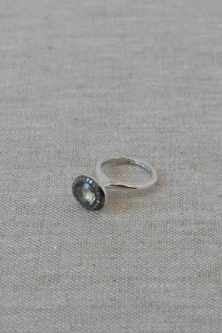 Rosa Maria Jewelry Beenu Prasiolite Ring