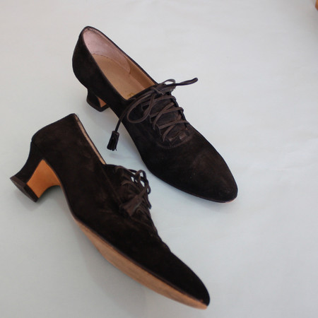 Vintage & Pre-loved Ferragamo Lace-up Heels