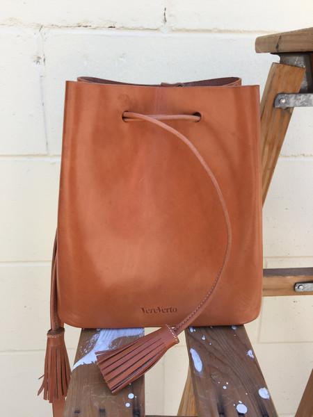 VereVerto Dita - Honey Bucket Handbag/Backpack