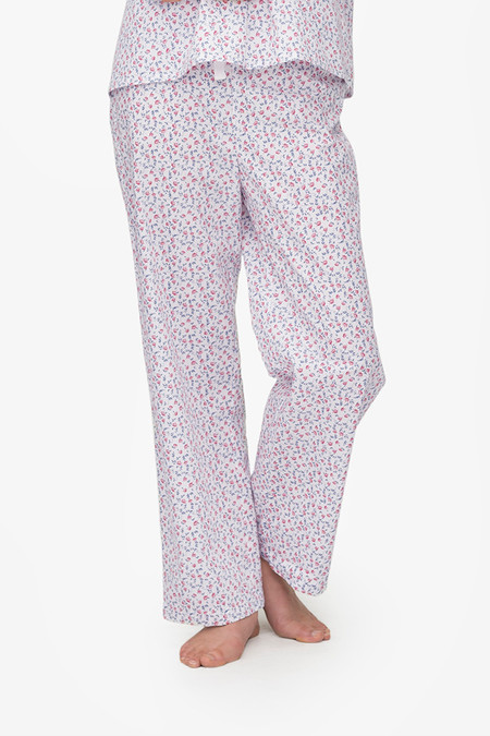 The Sleep Shirt Lounge Pant Red Floral Print
