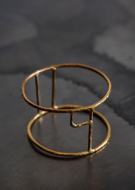 Aoko Su Ital Cuff (Half) Bronze