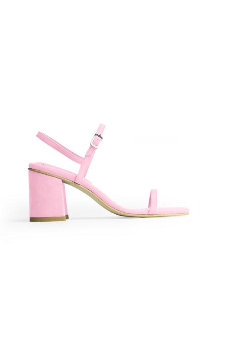 Rafa The Simple Sandal - Peony