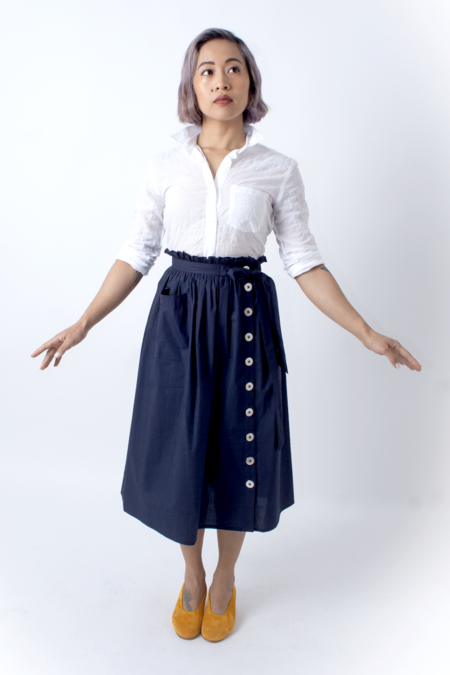Wray Town Skirt - Navy