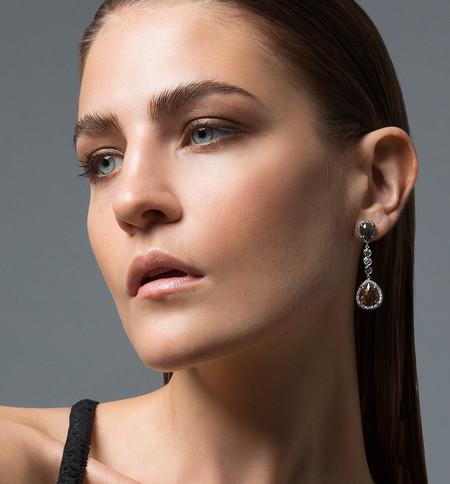 Lola Fenhirst Diamond Drop Earrings