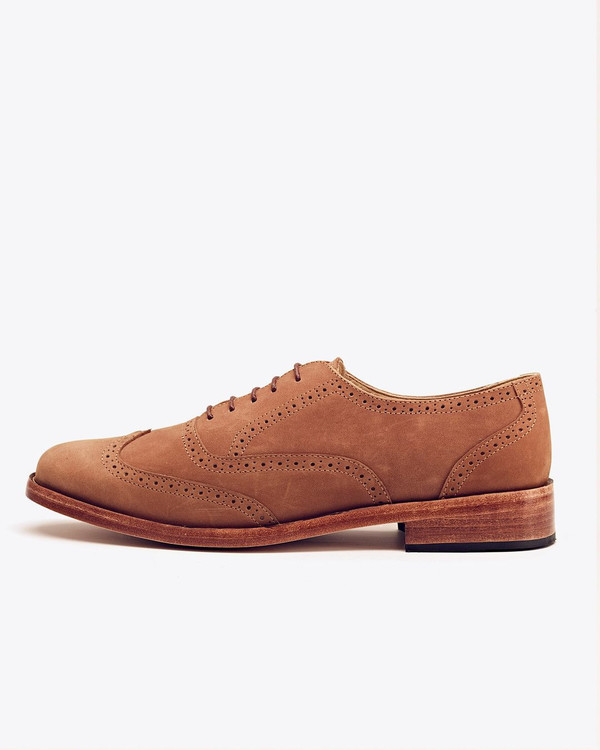 Men's Nisolo Taylor Wingtip Walnut
