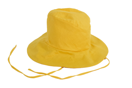 Clyde Fisherman Hat in Marigold Linen