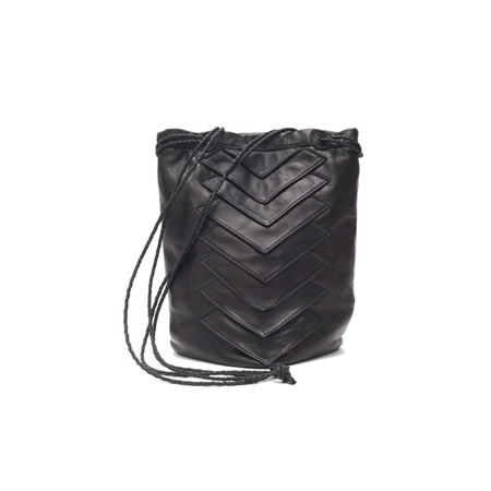 Collina Strada Tryst Bag Black Leather