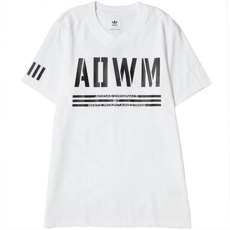 ADIDAS ORIGINALS BY WHITE MOUNTAINEERING T-SHIRT - WHITE