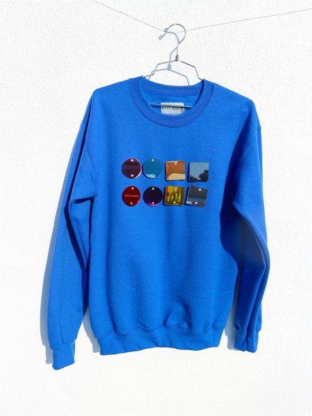 Kitty Joseph Perspex Sweatshirt - Blue
