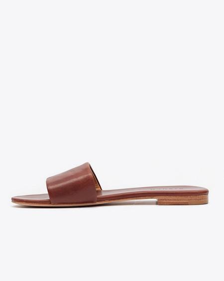 Nisolo Isla Slide Sandal Cognac